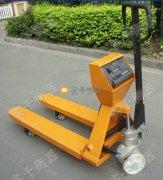 针式打印3吨电子叉车秤