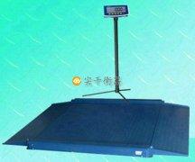上海报警电子地磅生产厂家